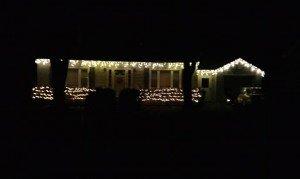 Christmas lights of Albany